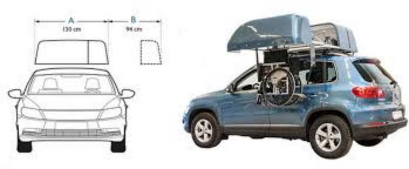coffre de toit de voiture chair topper pour fauteuil. Black Bedroom Furniture Sets. Home Design Ideas